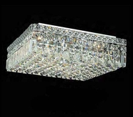 Worldwide 33518 Worldwide 16  6-light Semi-Flush Ceiling Light