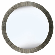 Kenroy Home 60025 Montgomery Antique Silver Finish Circular 36 Inch Diameter Mirror