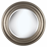 Kenroy Home 60027 Nob Hill Antique Silver Finish 32 Inch Diameter Round Mirror