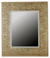 Kenroy Home 60035 Lafayette Gilded Antique Silver Wall Mounted 41 Inch Tall Traditional Mirror