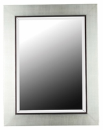 Kenroy Home 60039 Dolores Beveled 38 Inch Tall Silver Finish Home Mirror