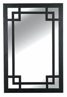Kenroy Home 60097 Jacob Dark Rustic Bronze 42 Inch Tall Rectangular Wall Mirror