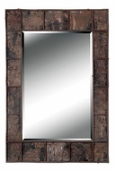 Kenroy Home 61002 Birch 38 Inch Tall Birch Bark Finish Wooden Home Mirror