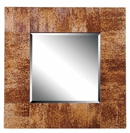 Kenroy Home 61003 Caribe 34 Inch Tall Deep Frame Banana Leaf Finish Wall Mirror