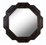 Kenroy Home 61004 Interchange Dark Brown 34 Inch Tall Wall Mounted Home Mirror