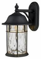 ELK 42260/1 Lapuente Small 14 Inch Tall Matte Black Outdoor Lantern Sconce