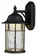 ELK 42261/1 Lapuente Matte Black Large Outdoor Lantern Wall Lighting