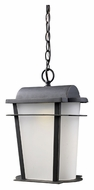 ELK 43007/1 Hampton Ridge Weathered Charcoal 11 Inch Diameter Traditional Outdoor Pendant Lighting