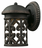 ELK 42365/1 Tuscany Coast Outdoor Mediterranean Large LED Lighting Sconce - Weathered Charcoal