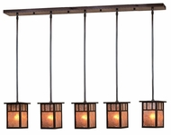 Arroyo Craftsman HICH-4L/5 Huntington Craftsman 5 Light Pendant