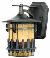 Quoizel TFAR8407BE Autumn Ridge Mini 11 Inch Tall Bergamo Exterior Wall Sconce
