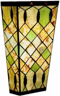 Kichler 69078 Woodbury Energy Efficient Stone & Art Glass Sconce