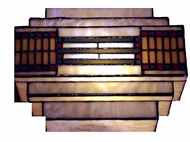 Dale Tiffany TH100082 Mission 1 Light Tiffany Wall Sconce
