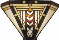 Dale Tiffany TW100888 Mission 1 Light Tiffany Wall Sconce