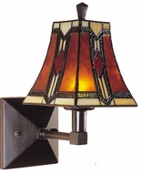 Dale Tiffany TW100852 Mende 1 Light Classic Tiffany Wall Sconce