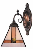 Landmark 071-TB Diamond 1 Light Tiffany Wall Sconce