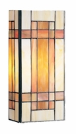 Kichler 69004 Tiffany Art Glass Creations 2 Light Wall Sconce in Dore Bronze