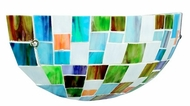 Kichler 69079 Tiffany Art Glass Creations Energy Efficient 6 Inch Wall Sconce
