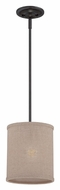 Quoizel CRA1508MC Cloverdale Mottled Cocoa 8 Inch Diameter Mini Drop Lighting
