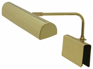 House of Troy GPTLED61 House of Troy Bold Clamping LED Grand Piano Lamp in Polished Brass