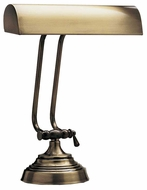 House of Troy P1013171 P10-131 Ten Inches Piano Lamp in Antique Brass