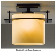 Hubbardton Forge 367525 Arc Ellipse Small Outdoor Semi-Flush Ceiling Light