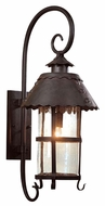 Troy B8325NB Camelot Traditional Outdoor Wall Sconce - 13 inches wide