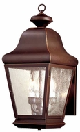 Troy BCD4920OB Carlton Outdoor 3 Light Wall Sconce