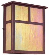 Troy BIH5912OB Monterey Craftsman Outdoor Wall Sconce - 9 inches wide