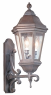 Troy BCD6831BZP Verona Traditional Outdoor Wall Sconce - 11.5 inches wide