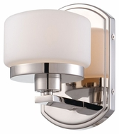 Nuvo 605021 Austin Polished Nickel Finish 7 Inch Tall Wall Light - Transitional