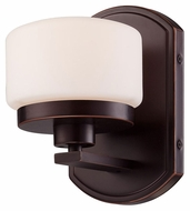 Nuvo 605121 Austin 7 Inch Tall Russet Bronze Finish Wall Sconce Light Fixture