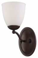 Nuvo 605151 Patton 11 Inch Tall Fluorescent Energy Star Prairie Bronze Wall Light