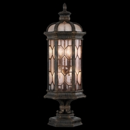 Fine Art Lamps 414483 Devonshire 35 inch outdoor pier mount light in Marbella wrought iron
