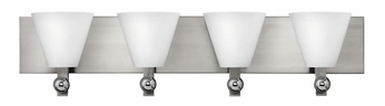 Fredrick Ramond 52124BNI Milan Large 4-lamp Modern Bathroom Vanity Lighting