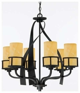 Quoizel KY5006IB Kyle 6-Light Chandelier