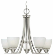 Quoizel IE5005BN Ibsen 5-Light Contemporary Chandelier
