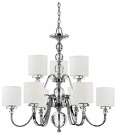 Quoizel DW5009C Downtown Contemporary 9-Light Chandelier
