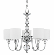 Quoizel DW5005C Downtown Contemporary 5-Light Chandelier