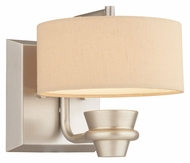 Thomas M411078 Tarragon Brushed Nickel Finish 7 Inch Tall Transitional LED Wall Lighting Sconce