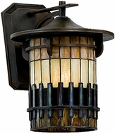 Quoizel TFAR8412BE Autumn Ridge Tiffany Outdoor Wall Sconce
