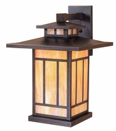 Arroyo Craftsman KB-12 Kennebec Craftsman Outdoor Wall Sconce - 17.5 inches tall