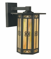 Arroyo Craftsman LIB-9 Lily Craftsman Outdoor Wall Sconce - 8.5 inches wide