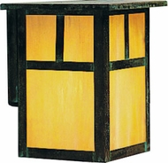 Arroyo Craftsman MW-15 Mission Craftsman Outdoor Wall Sconce - 18 inches tall