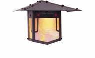 Arroyo Craftsman PDW-9GRC Pagoda Asian Outdoor Wall Sconce - 6.5 inches tall