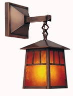 Arroyo Craftsman RB-8 Raymond Craftsman Outdoor Wall Sconce - 19 inches tall