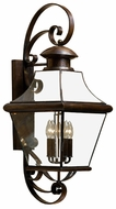 Quoizel CAR8414AC Carleton 34.5 inches tall outdoor lighting wall fixture in aged copper