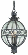 Troy F5009CB Campanile Extra Large Bronze 16 Inch Diameter Outdoor Tropical Pendant Light