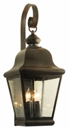 Meyda Tiffany 115253 Lapalma Traditional 27 Inch Tall Outdoor Wall Sconce Lighting Fixture