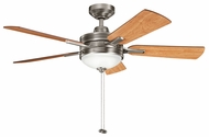 Kichler 300148 Logan 52  Ceiling Fan Light Fixture - Three Finishes